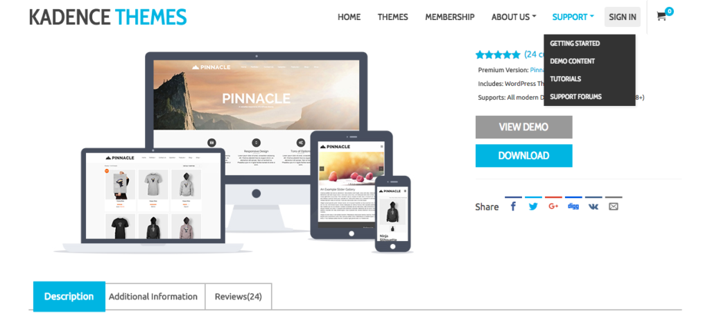 FireShot Capture 28 - Pinnacle - Free _ - https___www.kadencethemes.com_product_pinnacle-free-theme_ 2